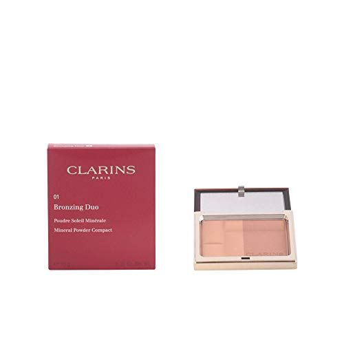 Clarins Bronzing Duo Mineral Powder Compact SPF 15-01 Light ()