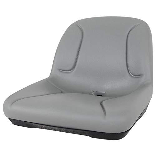 High-Back Plastic Drain Hole Seat