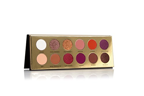 Coloured Raine Queen of Hearts – 12 Pan Eyeshadow Palette – Day to Night Looks Cruelty Free