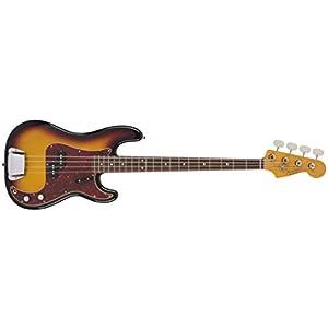 Fender Modern Pickguard, Jazz Bass, 10-Hole – Aged Glass Sparkle