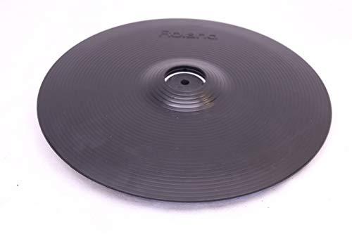 Electronic Crash Cymbal - Roland Crash Cymbal, Black, 12-inch (CY-12C)