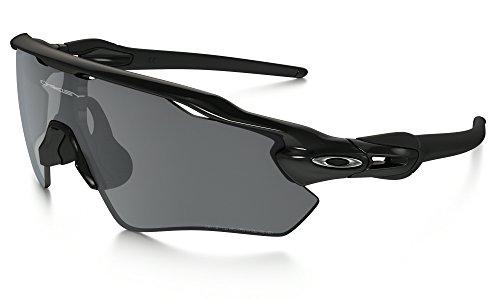 Oakley Radar EV Path Sunglasses Polished BLK / BLK Irid. Pol. & Care Kit - Black Radar Iridium Path Oakley