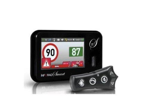 Inforad Smart Avertisseur de danger communautaire pour GPS France//Europe Noir