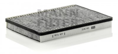 Mann-Filter CUK 2672 Cabin Filter With Activated Charcoal for select  Volkswagen Passat models