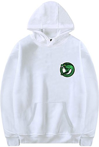 Pull Manches Sweat South Emilyle Side Serpent Riverdale Blanc Homme Longues Tqw065