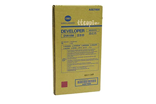 Genuine Konica Minolta A5E7800 DV616M Magenta Developer for C1085 C1100 by Konica-Minolta (Image #1)