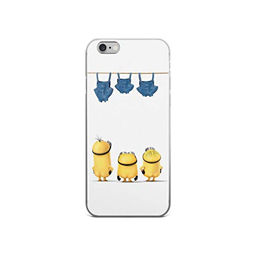 iPhone 6/6s Pure Clear Case Cases Cover Moon Stealer Funny Cartoon -