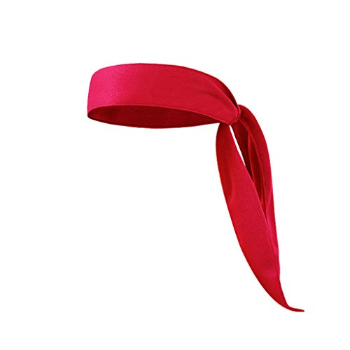 UMFunHead Tie Sports Headband Running Tennis Karate Stretch Moisture Wicking -