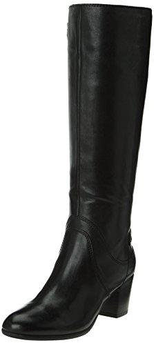 Boots Noir Femme Geox Lucinda black Zw5xqq7C