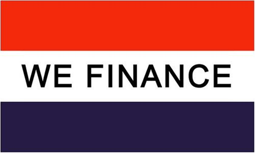 We Finance MESSAGE Flag - 3 foot by 5 foot Polyester -