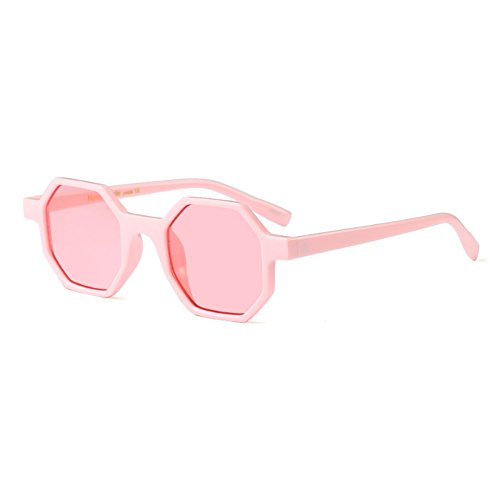 Mod Aiweijia Frame Polvo Tableta Sunglasses En Fashion Polygonal design style Glasses Womens Irregular rqTrw0t
