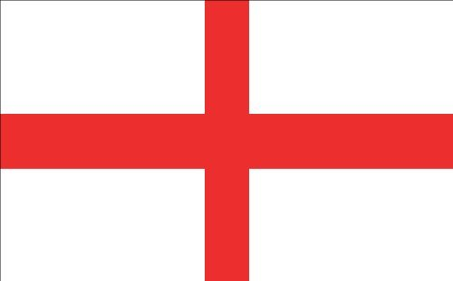 Vinyl USA England Flag (St. George's Cross) Sticker (George Sticker St Flag)