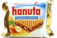 Hanuta (Haselnuss - Schnitte) - 1.55oz [Pack of 6] by Kinder (Image #1)