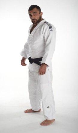 adidas Judoanzug Champion II IJF weiß 205: : Sport