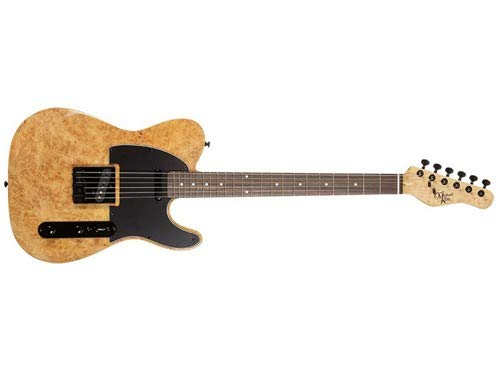 Michael Kelly Burl 50 Ultra Electric Guitar (Natural Burl) by Michael Kelly