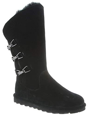Bearpaw Sheepskin Boots - BEARPAW Women's Jenna Boot Black II Size 10 B(M) US