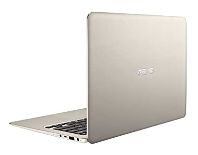 ASUS Zenbook 13.3-Inch Ultra-Slim Aluminum Laptop, 8 GB RAM and 256 GB SSD (UX305FA-ASM1) - Free Windows 10 Upgrade