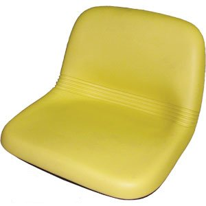 John Deere GT242, GT262, GT275, LX172, LX173, LX176, LX178, LX186, LX188 Riding Mower High Back Seat Yellow by A&I Products