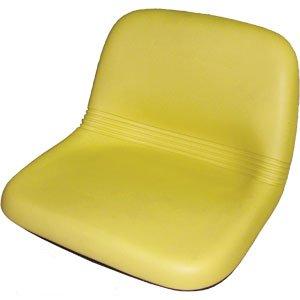 John Deere GT242, GT262, GT275, LX172, LX173, LX176, LX178, LX186, LX188 Riding Mower High Back Seat Yellow