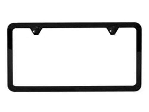 Mopar Satin Black Slim Edge License Plate Frame - 82213250