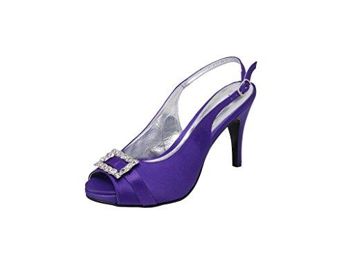 LEXUS - Plataforma Mujer púrpura - morado