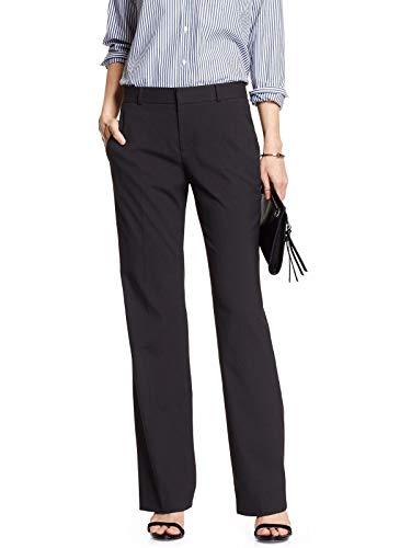 - Banana Republic Women's Jackson-Fit Classic Suit Trouser Black 4R