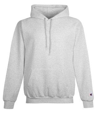 Amazon.com: Champion Men's Double Dry Eco Hooded Pullover Fleece ...