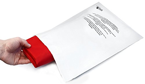 "Poly Mailer Bags - 100 Pack 14.5x19 ShipQuick Envelope Mailers With Adhesive Strip and Safety Regulation Choking Warning- Water and Weather Resistant Envelope Bags (14.5""x19"" 100 Pack)"