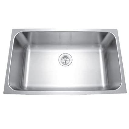 Ordinaire Mirabelle MIRUC309 30u0026quot; Single Basin Stainless Steel Kitchen Sink    Undermount In, Stainless Steel
