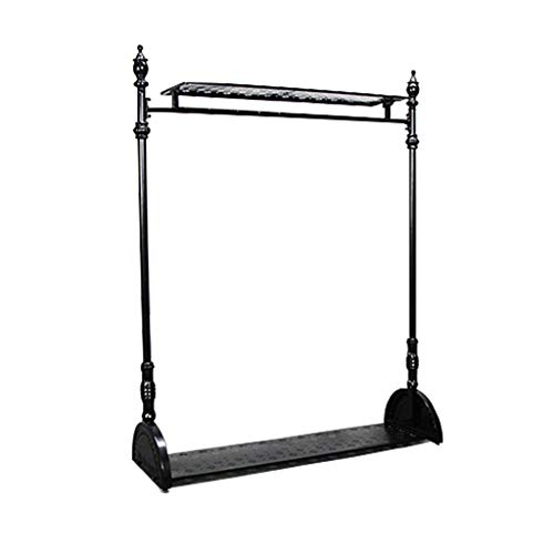 Amazon.com: Coat RACK, soporte de pie de hierro forjado para ...
