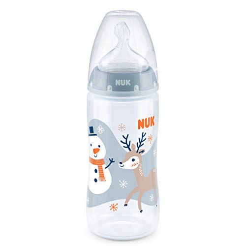 NUK FIRST CHOICE+ Anti-Colic-Trinksauger Silikon M f/ür Milch 6-18 Monate Gr/ö/ße 2 2 St/ück