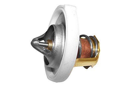 APDTY 105924 Secondary 203 Degree Thermostat w/Seal Fits Select Dodge Chryler Jeep 1.8L 2.0L or 2.4L Engine (Replaces Mopar 55111017AB)