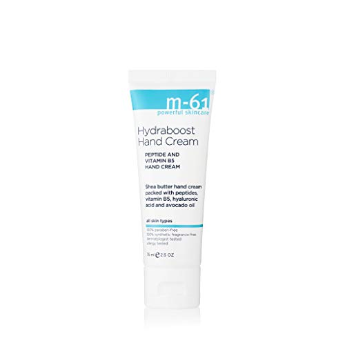 M-61 Hydraboost Hand Cream – 75 ML/2.5 OZ – Nourishing and hydrating hand cream with hyaluronic, avocado oil, vitamin B5…