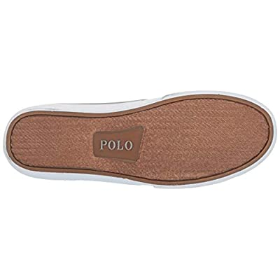 POLO RALPH LAUREN Men's Talin Sneaker, Soft Grey, 9.5 D US | Fashion Sneakers