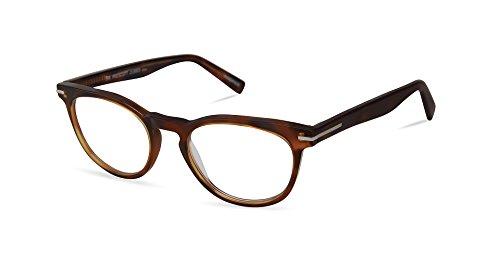 Mr Prescott - Retro British Fashion Reading Glasses for Men - Round Trendy Readers from Scojo New York - Tortoise (+2.00 Magnification Power) ()