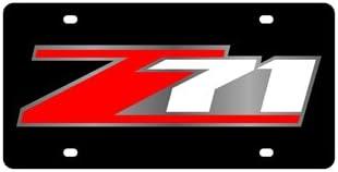 Eurosport Daytona Chevrolet Z71 License Plate Eurosport Daytona Inc.