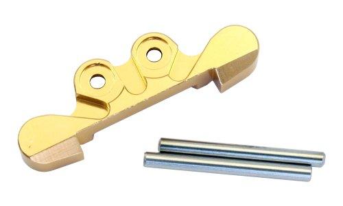 교 인 アルミフロントサスマウント (골드) 무선 조종 부품 MBW024G / Kyosho Aluminum Front suspension mount (gold) RC parts MBW024G