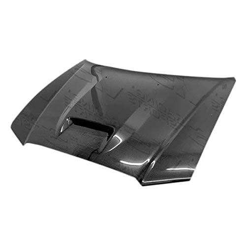 (VIS Racing (VIS-ZCK-684) SRT Style Hood Carbon Fiber - Compatible for Dodge Charger 2011-2014 (2011 2012 2013 2014 | 11 12 13 14))