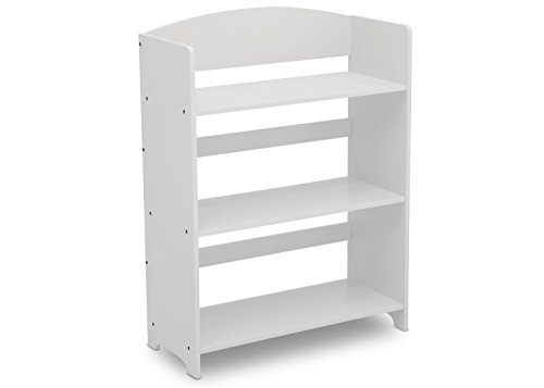 (Delta Children MySize Bookshelf, Bianca White )