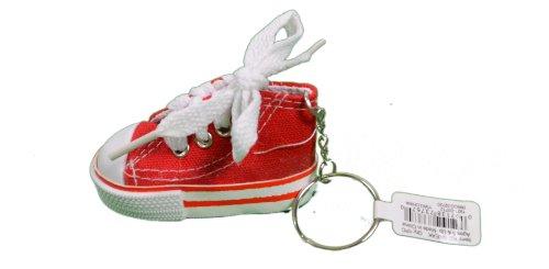 6f07605571a4 Rhode Island Novelty Lot of 12 Canvas Sneaker Tennis Shoe Chucks Keychain  Party Favors