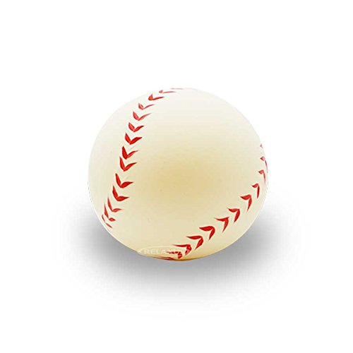 Relaxus Sporty Anti Stress Gel Ball and Hand Exerciser (Baseball)]()