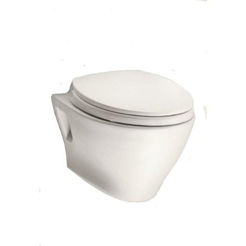TOTO CT418F#12 Aquia Wall-Hung Dual-Flush Toilet Bowl, Sedona Beige