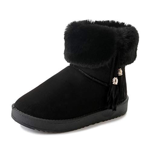 HOESCZS Frauen Schuhe Schnee Stiefel Frauen Winter Anhänger Dicke Warme Rutschfeste Kurze Röhre Student Baumwolle Schuhe B07JJV9XYP Sport- & Outdoorschuhe Sehr gute Klassifizierung