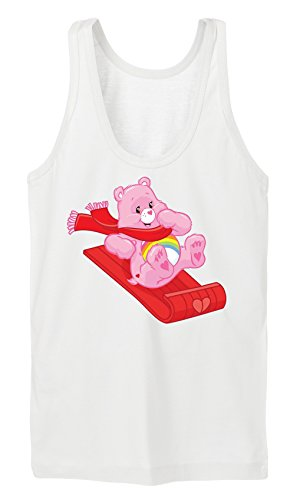 Winter Fun Bear Tanktop Girls Bianco Certified Freak