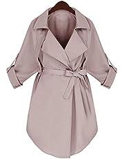 Autumn Winter Women Long Trench Coat Woman Long Sleeve Jacket Outerwear