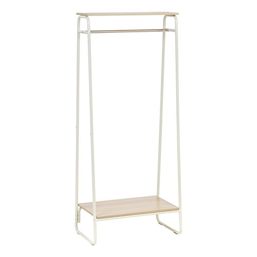 wood base garment rack - 2