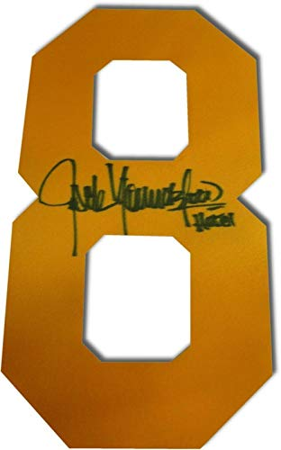 Jack Youngblood Autographed Jersey - Yellow #8#8 Angels for sale  Delivered anywhere in USA