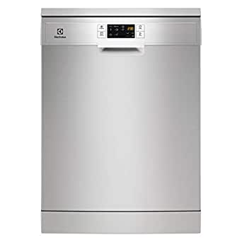 Electrolux 6 Programmes 13 Place settings Free standing Dishwasher, Stainless steel - ESF5513LOX