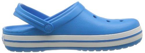 Crocs Crocband Clog, Zuecos con Correa, Unisex Azul (Ocean/White)