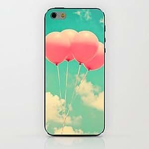 ZXM- caso duro del patrón del globo de aire de cuatro para el iphone 6